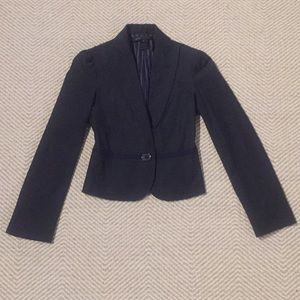 Marc Jacobs black and navy blazer
